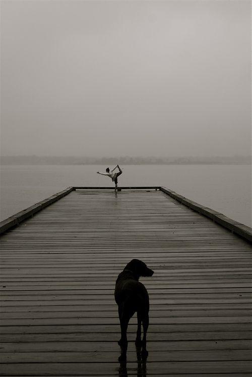 coffee and yoga