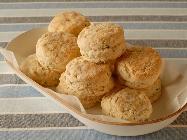 Herb biscuits. GF FLOUR USED