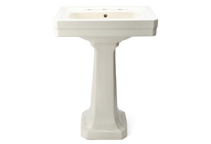 Waterworks - Exeter Pedestal, Ivory $515