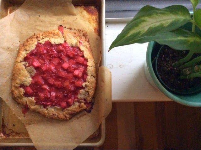 Karen Demasco's Rhubarb and Raspberry Crostata