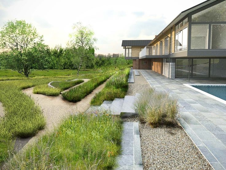 Landscape garden winchester for Smr landscape architects