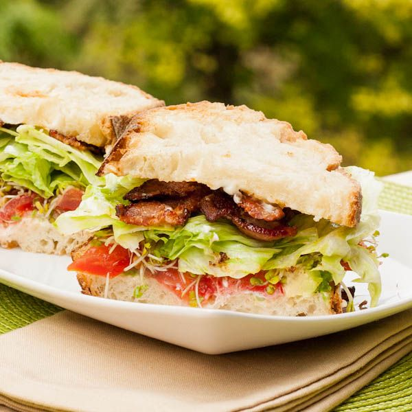 blt with avocado - avocado pesto | Sandwiches and Wraps | Pinterest