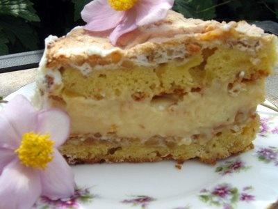 Maple Walnut Apple Meringue Torte | Sweets | Pinterest