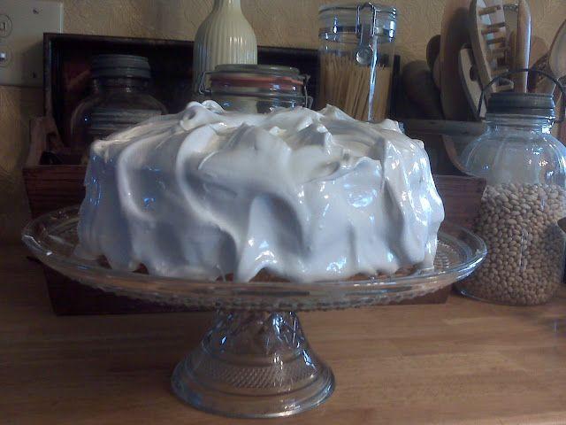 North Dakota Kitchen: Cake with Seven Minute Frosting