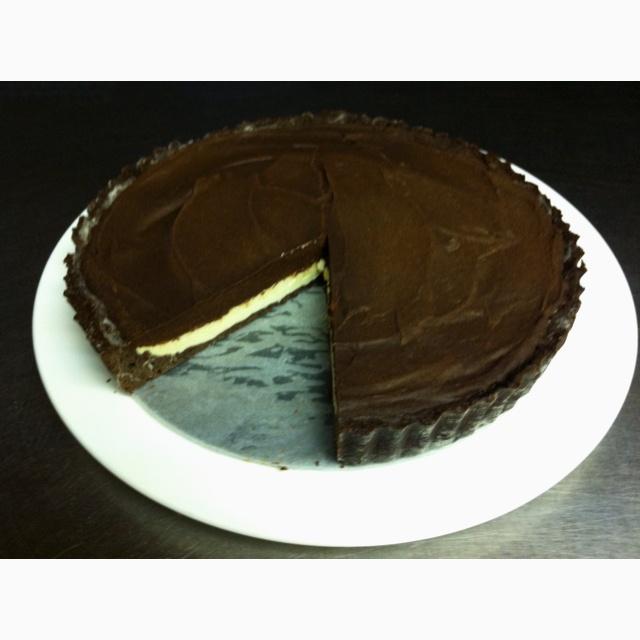 Chocolate espresso tart - recipe by slowlikehoney.