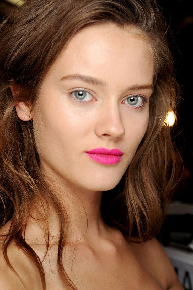 A swipe of bright lipstick is the perfect make-up update for Friday night:
