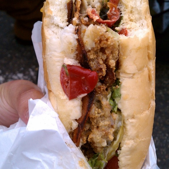 Fried Oyster And Bacon Sandwich Recipes — Dishmaps