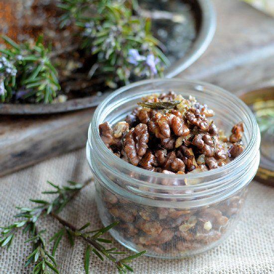 Rosemary & Smoked Sea Salt Roasted Walnuts.