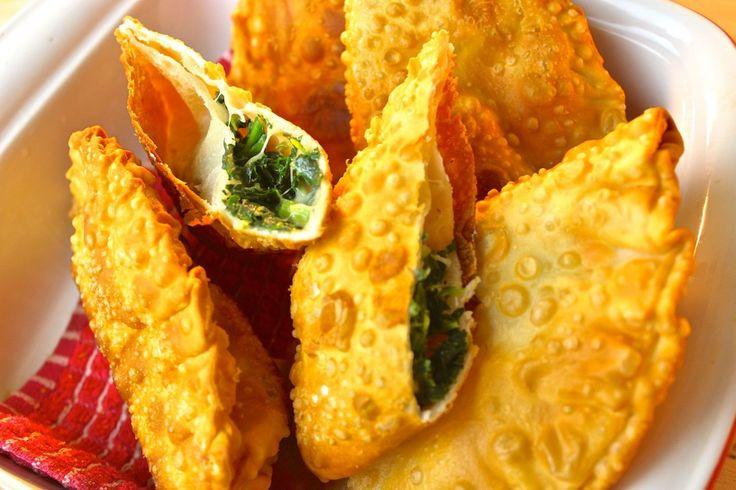 Spinach & Cheese Empanadas - Recipe by Darius Williams at http ...