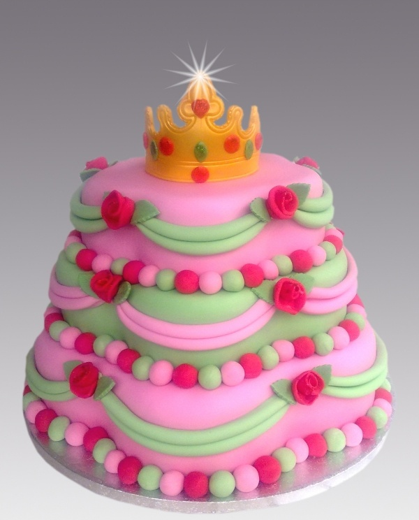 Princess Crown Cake Pictures : Crown Princess Cake Cakes Pinterest