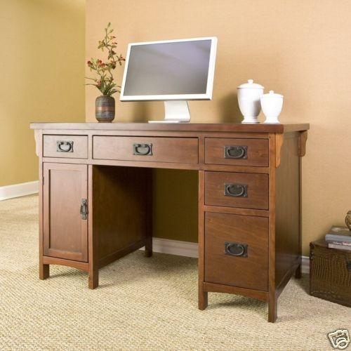mission style desk | Furniture ideas | Pinterest
