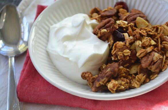 pumpkin pie granola | Breakfast Recipes/Ideas | Pinterest
