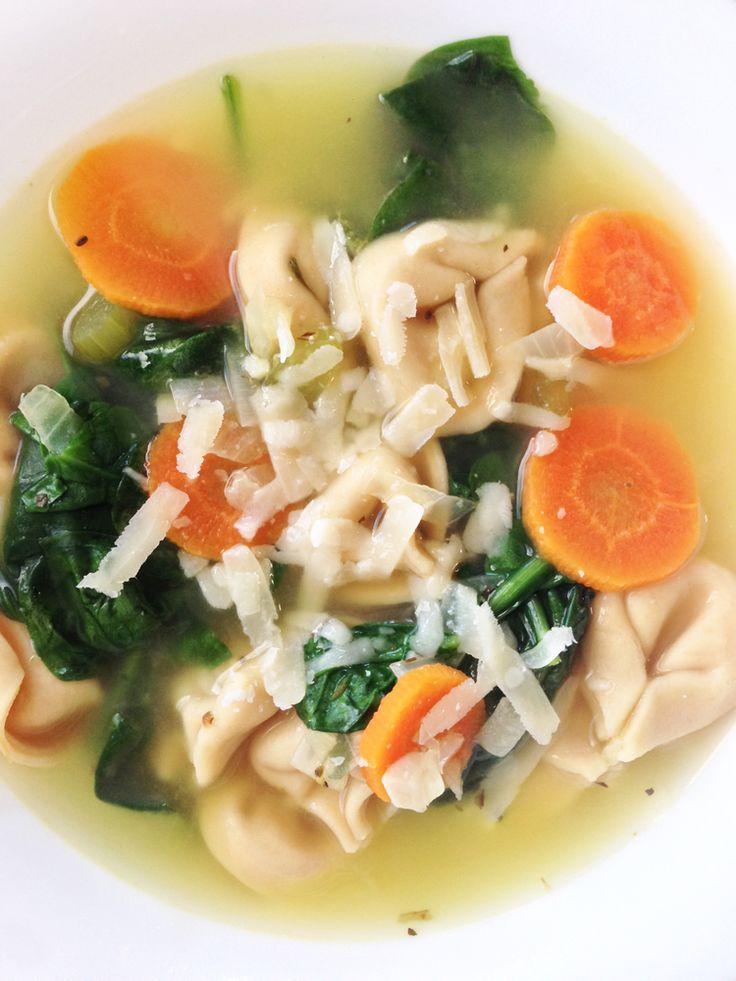 Tortellini En Brodo (Broth) | Food | Pinterest