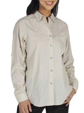 ExOfficio Women's BugsAway Baja Long Sleeve Shirt --- http://www