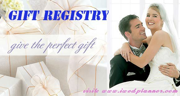 Items For Wedding Gift Registry : ... gift registry technology today has taken bridal registry to new