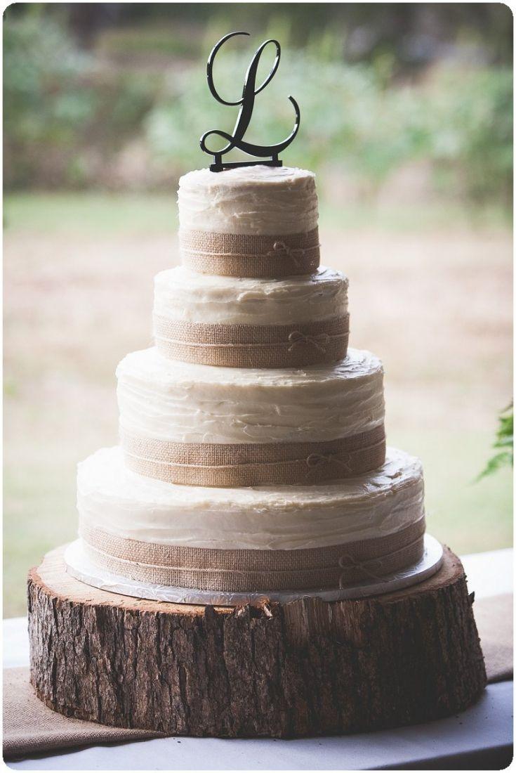 Rustic Wedding Cake Boards