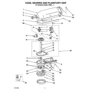 kitchenaid mixer parts and email phone to call for help