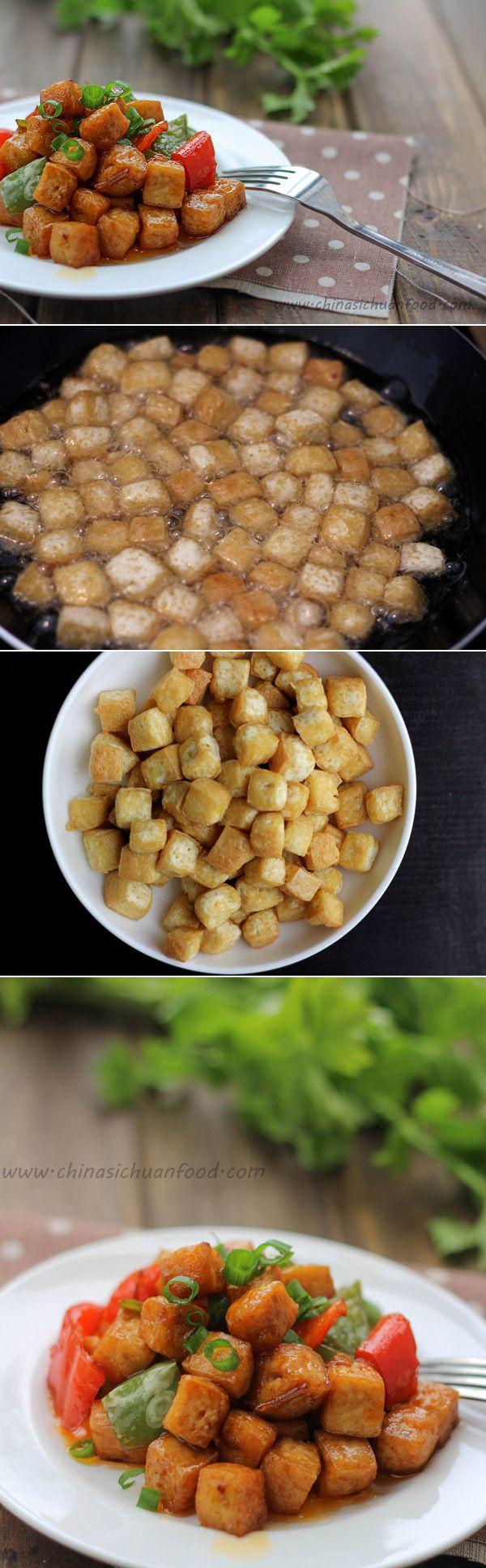 Vegan Kung Pao Tofu | Recipe