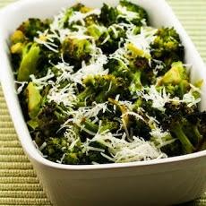 Roasted Broccoli with Lemon and Pecorino-Romano Cheese