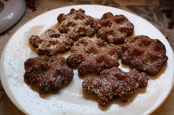 Recipe: Waffle Iron Brownies - Yankee Magazine. Supposedly they have ...