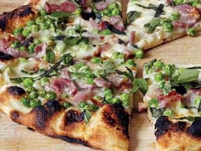 Ham and Peas Pie | Pizza & Flat Breads | Pinterest