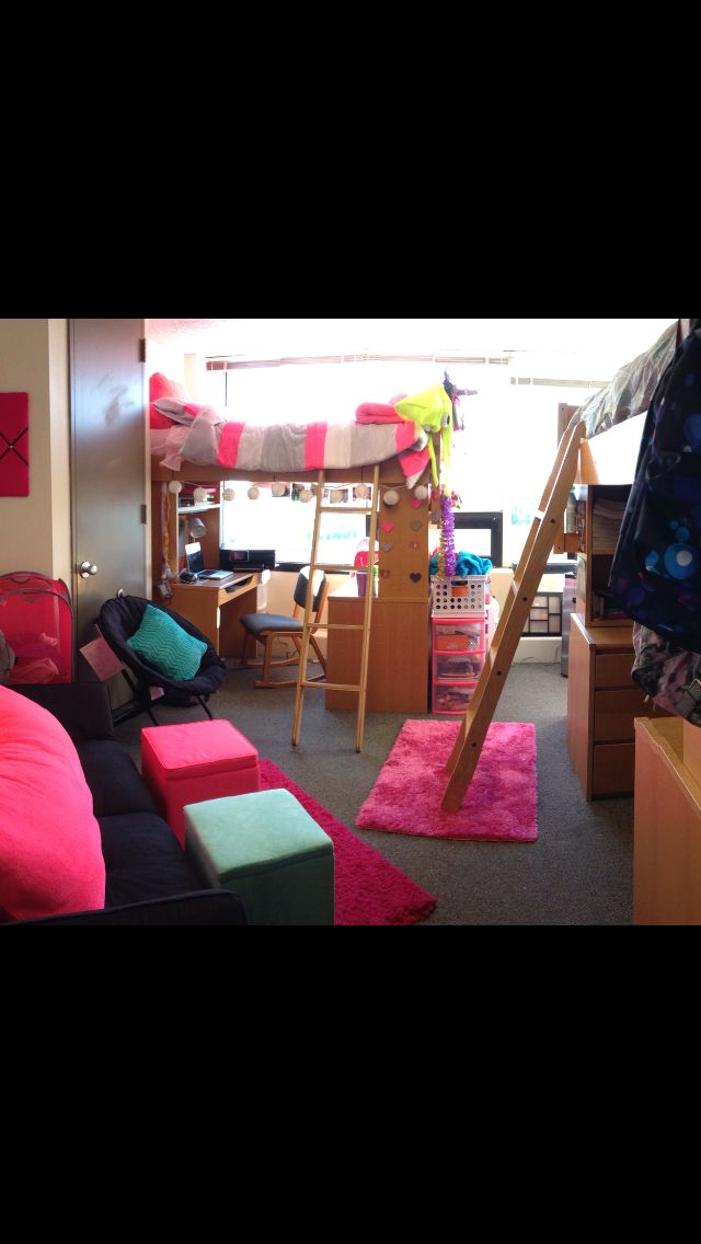 Pin by jennette bago on college pinterest Dorm room setups