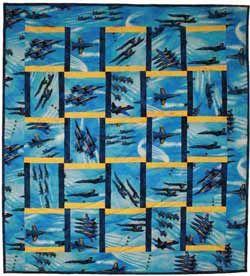 Blue Angels Quilt