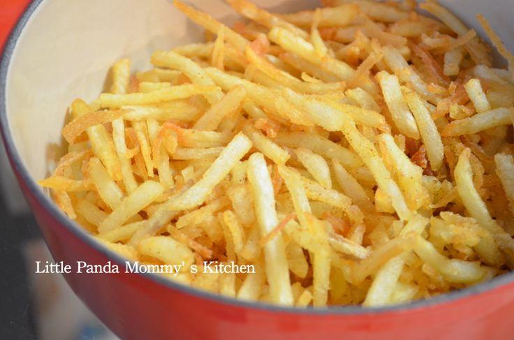 Homemade Crispy French Fries | My Homemade Food | Pinterest