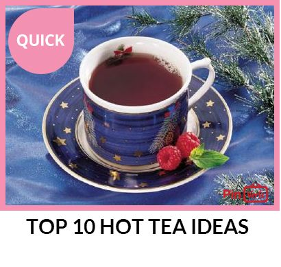 TOP TEN HOT TEAS Hibiscus Tea littlefoodjunction.com Orange-Ginger ...