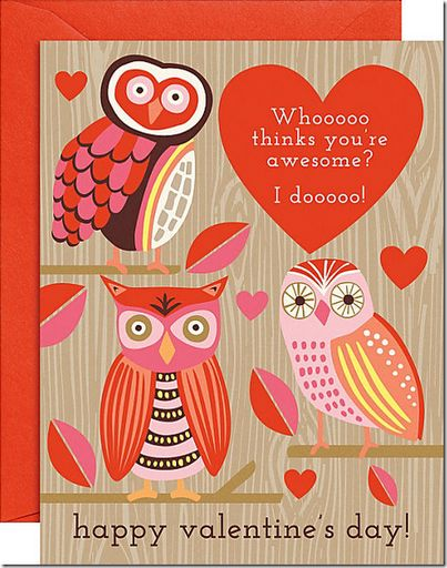 valentine's day owl decorations