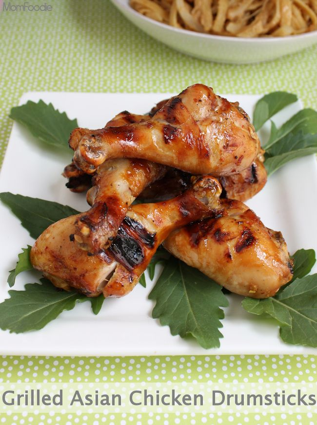 Grilled Asian Chicken Recipe — Dishmaps