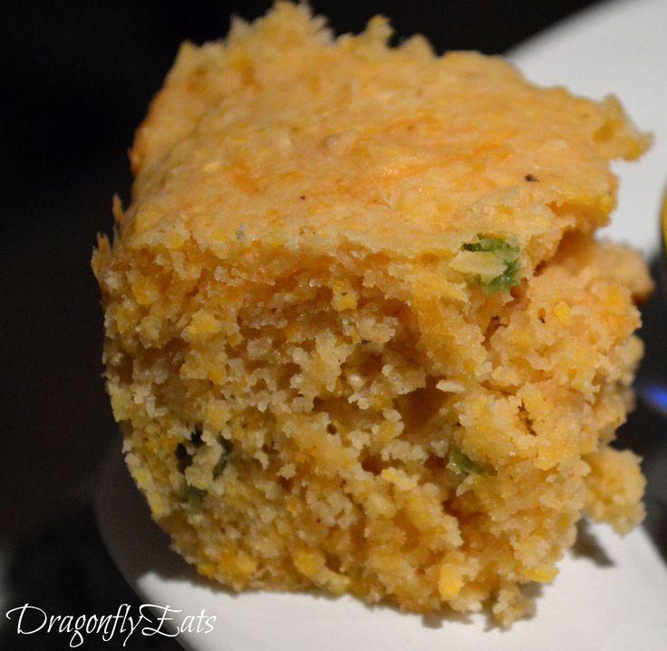 Cheddar Jalapeño Cornbread | DragonflyEats Recipes | Pinterest