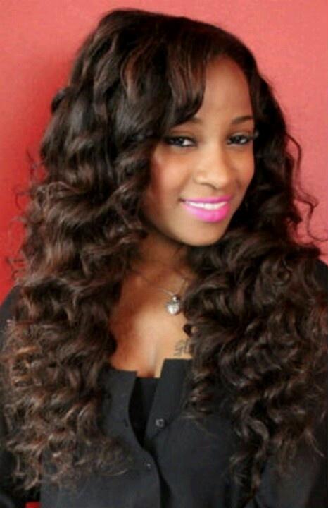 celebrity updo hairstyles : Toya Carter Celebrity sew in hairstyles (black women) Pinterest