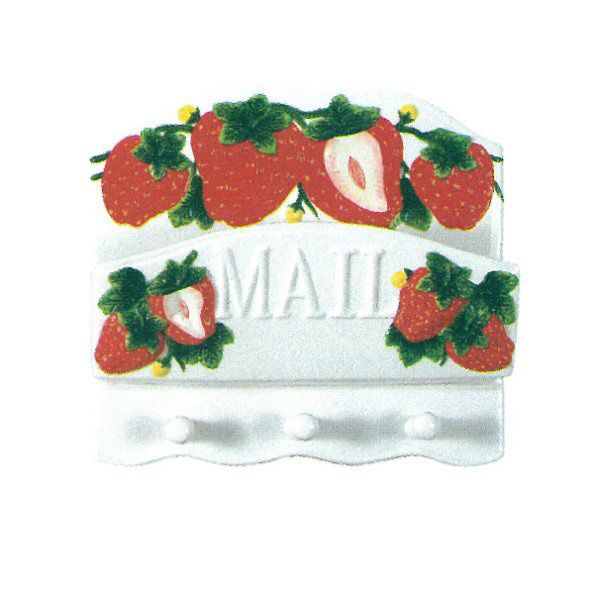 Kitchen home decor strawberries trend home design and decor - Strawberry themed kitchen decor ...
