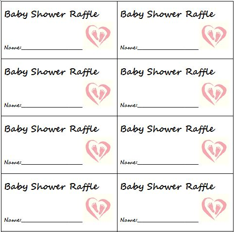Simple, yet cute idea for diaper raffle tickets. The more diapers your ...