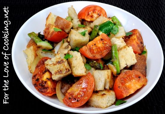 Grilled Vegetable Panzanella Recipe | FOODS: THAT LOOK DELICIOUS | Pi ...