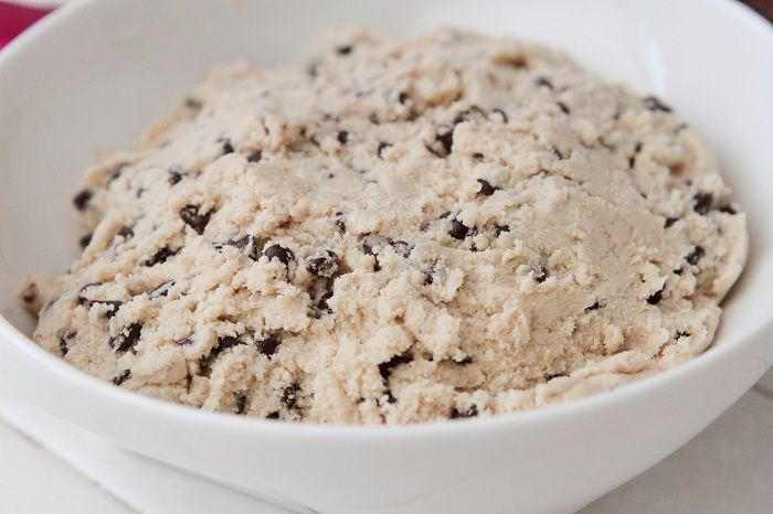 chip cookie dough no bake stuffed cookie dough bites recipe yummly