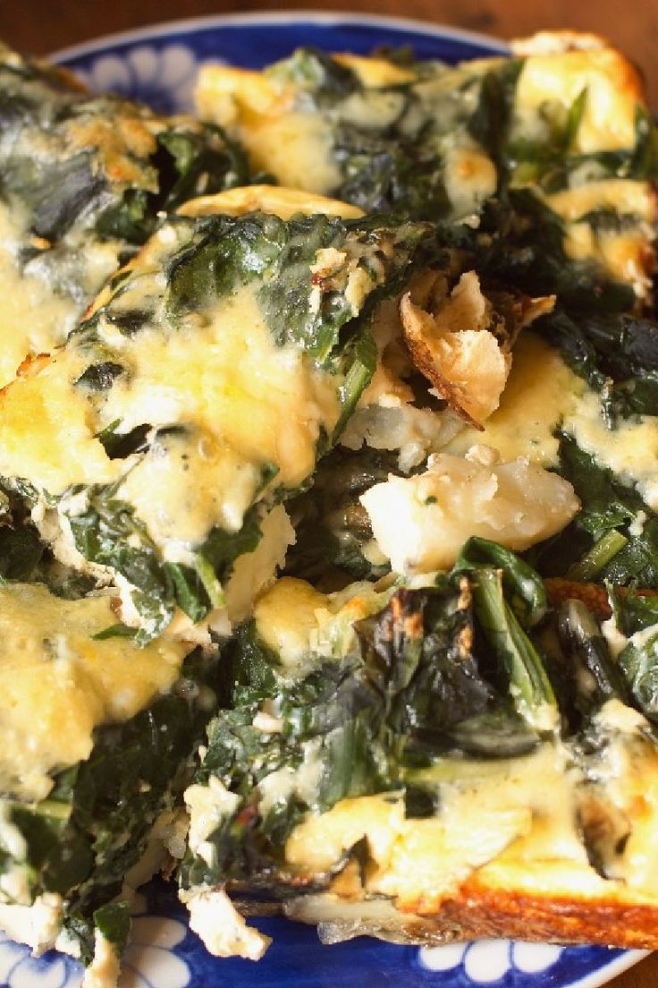 Spinach Frittata Recipe @Ellen Padlick A better way to do eggs ;)