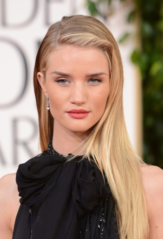 Rosie Huntington-Whiteley | Glamorous Blonde Hair