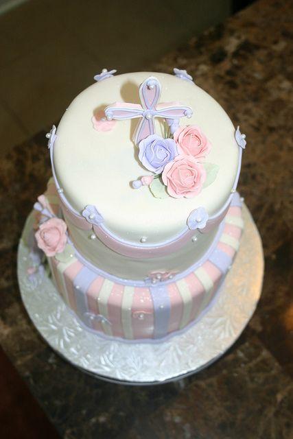 Baptism cake | Flickr - Photo Sharing! | CAKES | Pinterest