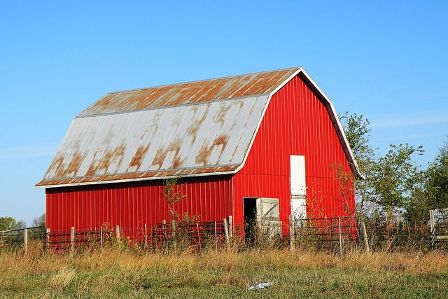 red metal barn barns bridges things pinterest