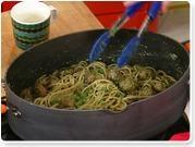 Rachael Ray's Peasto! Pesto made with Peas!