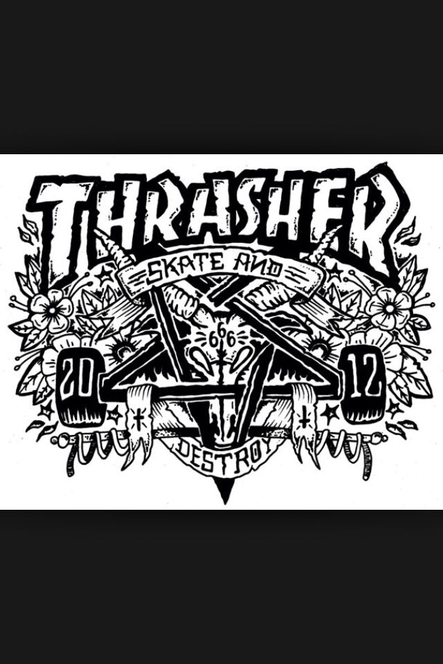 Thrasher Wallpaper Skate And Destroy
