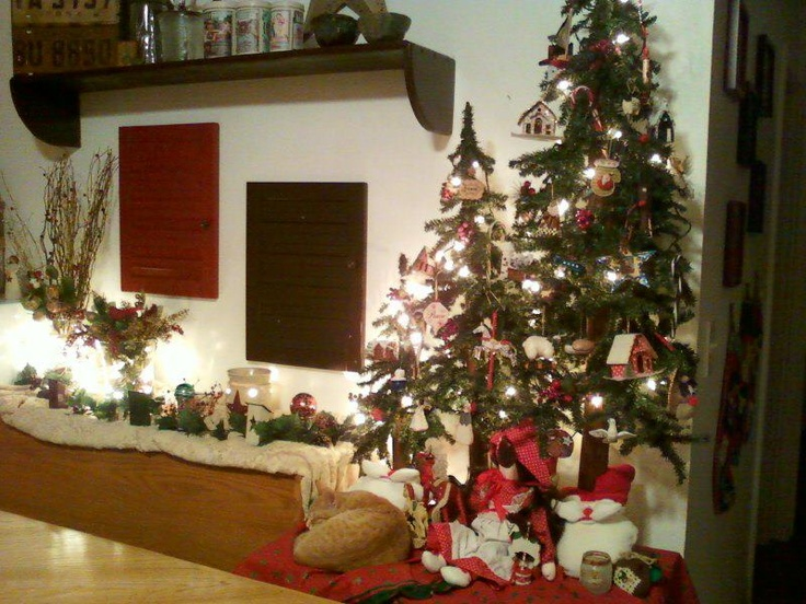 country christmas decor | COUNTRY CHRISTMAS | Pinterest