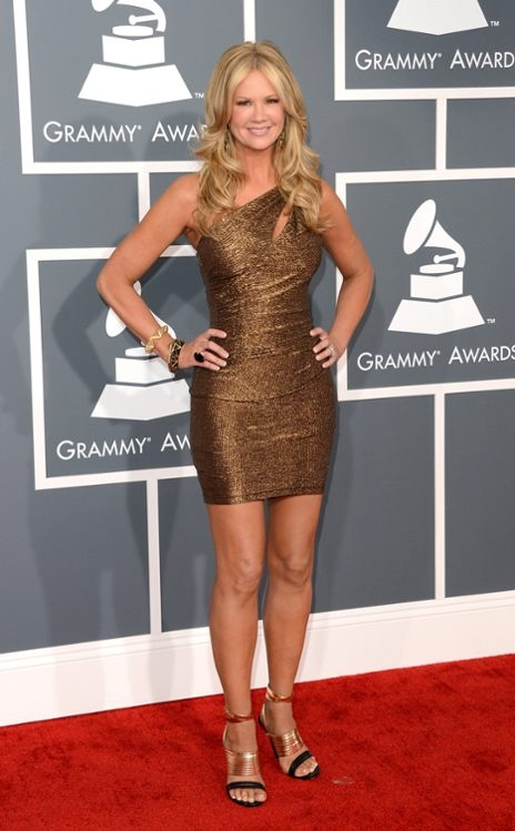 Nancy O'Dell from 2013 Grammys: Arrivals