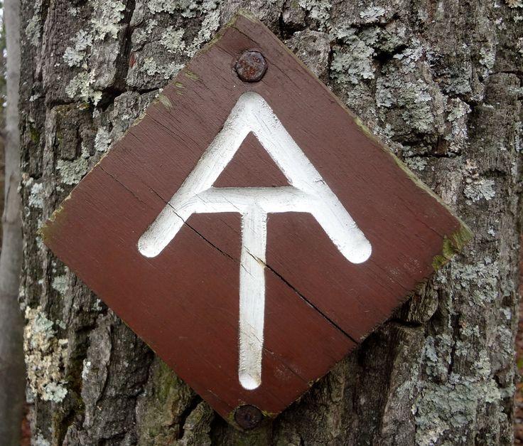 appalachian trail symbol appalachian trail pinterest