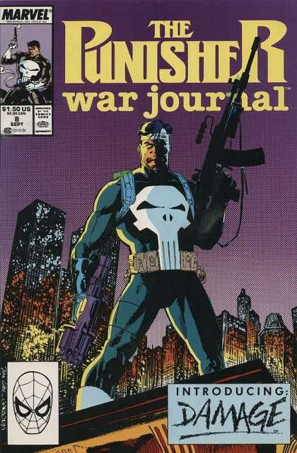Punisher War Journal 8 - Jim Lee | Marvel | Pinterest