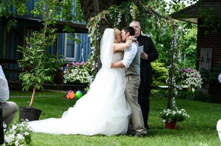 Perfect Backyard Wedding : Our perfect outdoor wedding  Hippie wedding
