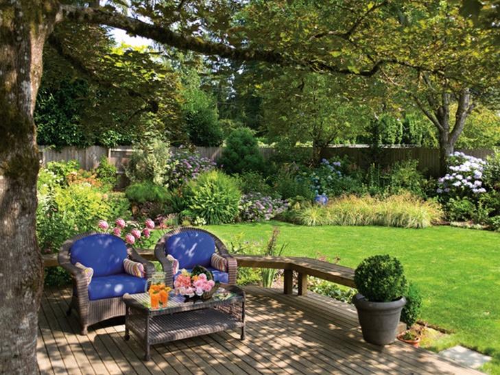 Nice Small Backyard Ideas : Nice backyard  The Yard  Front & back  Pinterest