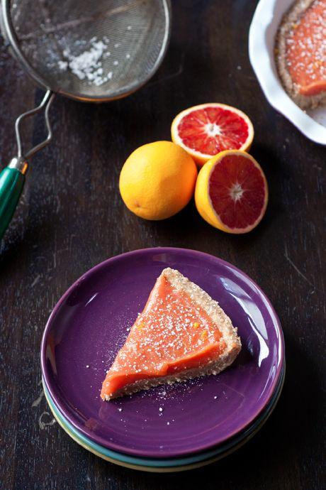Blood Orange Curd & Bars | Dessert | Pinterest